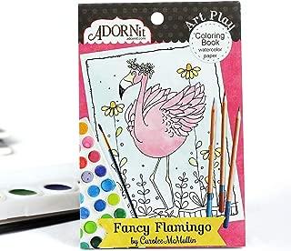 ADORNit Mini Coloring Book (Fancy Flamingo Mini)