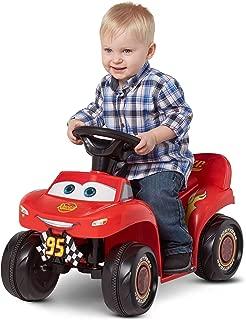 Kid Trax. 6V Cars 3 Lightning McQueen Quad, Red (Styles May Vary) (L x W x H) 26.40 x 17.00 x 14.60 Inches