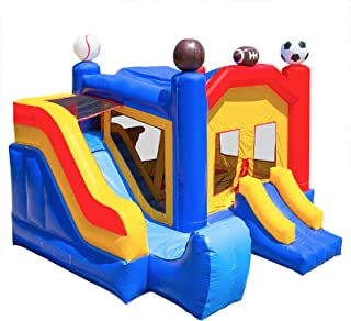 Cloud 9 Commercial Grade Bounce House 100% PVC Sports Jump Inflatable Only