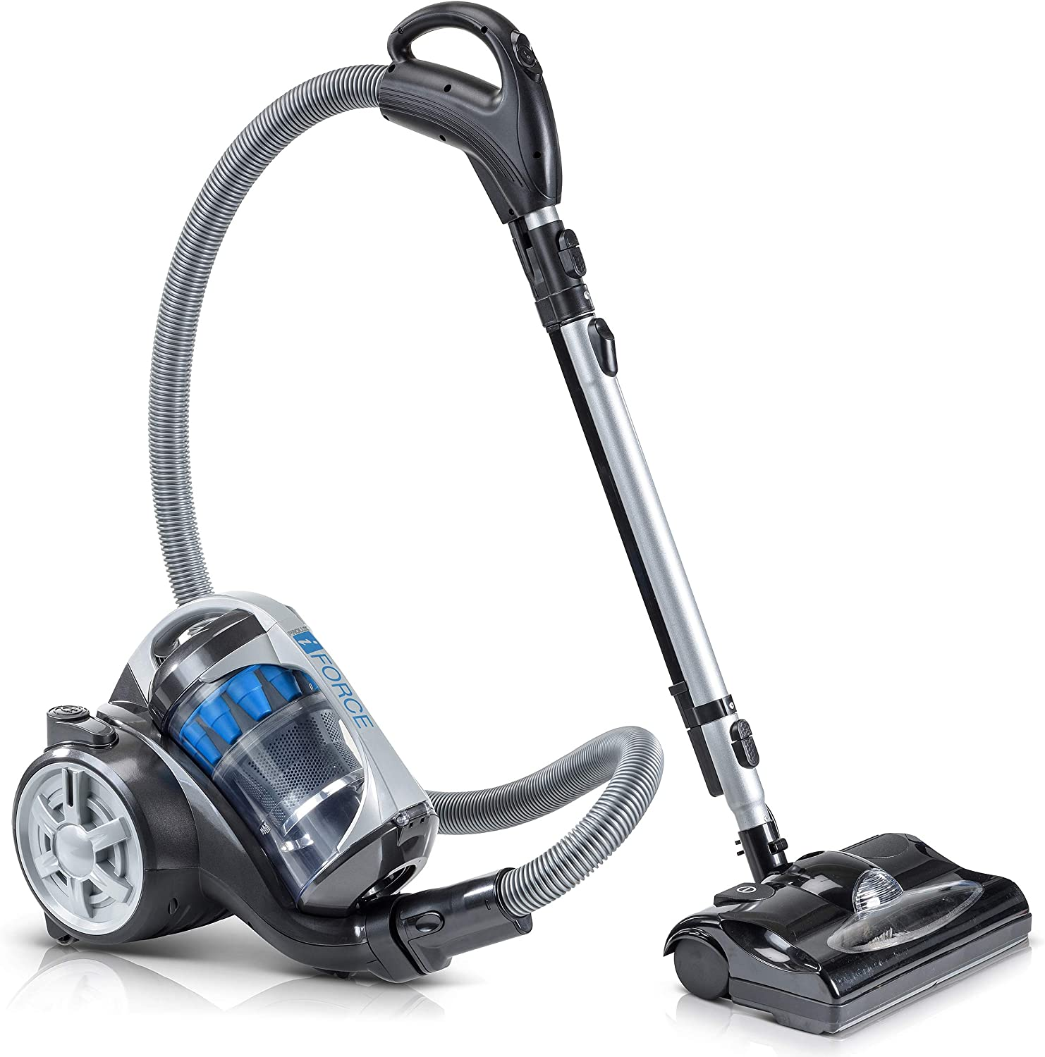 Prolux iFORCE Light Seasonal Wrap Long Beach Mall Introduction Weight Bagless w Cleaner HE Vacuum Canister