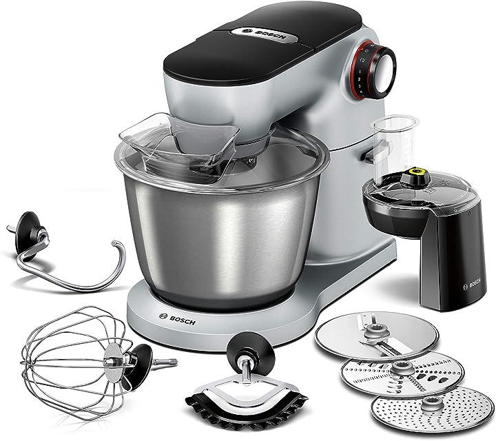 Robot da cucina optimum, ciotola per mescolare in acciaio inox 7 modalità, 1300 w MUM9D33S11
