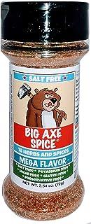 Big Axe Spice ORIGINAL MEGA FLAVOR SALT FREE 18 Herbs and Spices All Purpose Seasoning, Potassium Free, Gluten Free, Sugar...
