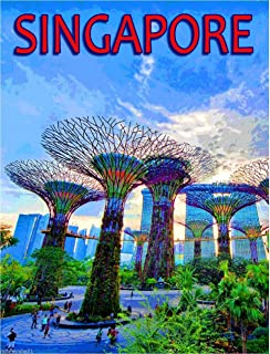 A SLICE IN TIME Singapore Marine Dream Southeast Asia Asian Travel Advertisement Art Poster