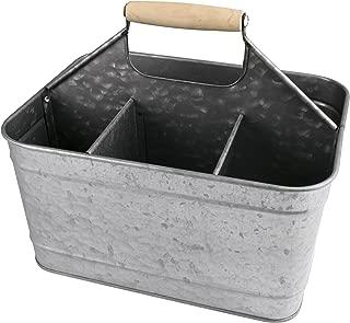 Artland Masonware Carry-All Serveware, Galvanized Metal