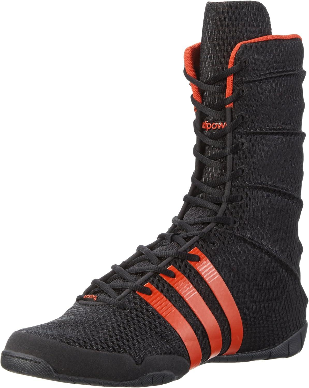 adidas Adipower G62678 Boxing Shoes Size 4 Black : Amazon.co.uk ...
