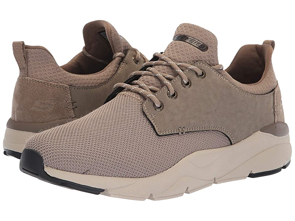 SKECHERS Relaxed Fit(r) Recent Sereno (Taupe) Men