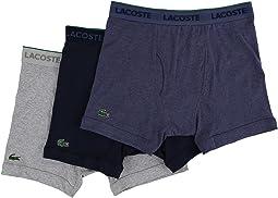 Lacoste - Essentials 3-Pack Boxer Brief