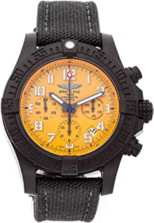 Breitling Avenger Mechanical (Automatic) Yellow Dial Mens Watch XB0180E4/I534 (Certified Pre-Owned)