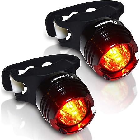 Bicycle Induction Brake Tail Light Bike Light Headlight/&Taillight Seat-Mounted