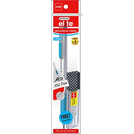Cello Supreme Elite 0.7mm Mechanical Pencil - Pack of 20