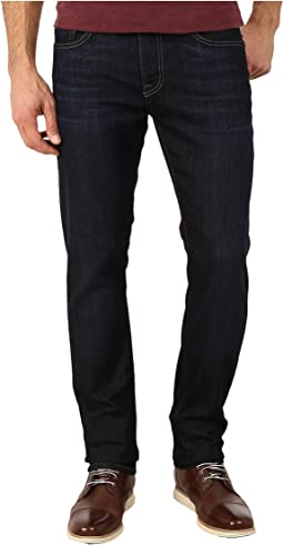2acd7b21de Perry ellis slim fit stretch rinsed denim in dark indigo