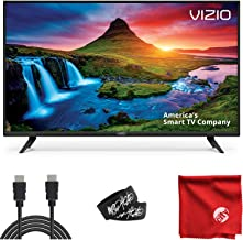 $349 » VIZIO D-Series 40-Inch 1080p Full HD LED Smart TV (D40F-G9) with Built-in HDMI, USB, SmartCast, Voice Control Bundle with 6.5 ft HDMI Cable and Accessories