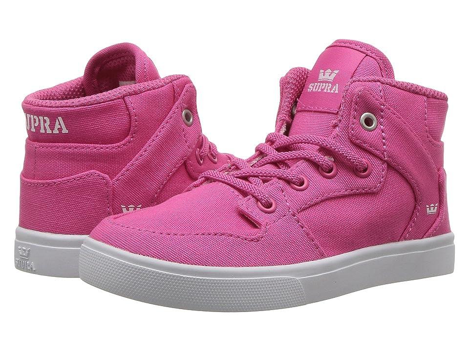 Supra Kids Vaider (Toddler) (Pink/White) Boy