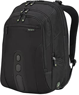 Targus Spruce EcoSmart Travel and Checkpoint-Friendly Laptop Backpack for 17-Inch Laptop, Black (TBB019US)