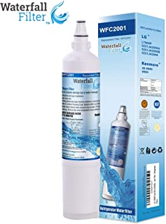 Waterfall Filter - Refrigerator Water Filter Compatible with LG LT600P & Compatible with LG 5231JA2006A