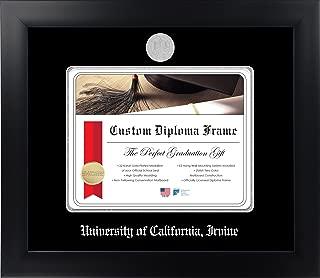 Celebration Frames University of California, Irvine 8½ x 11 Matte Black Finish Infinity Diploma Frame
