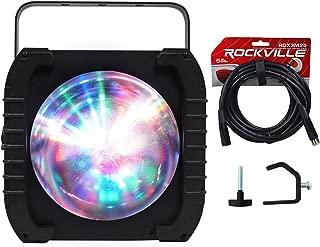 American DJ ADJ REVO 4 IR RGBW DMX DJ/Club Light Moonflower FX+DMX Cable+Clamp