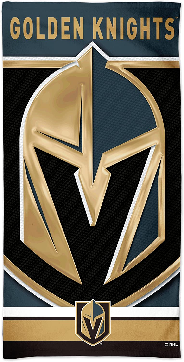 WinCraft Vegas Golden Knights Spectra Now 2021new shipping free shipping on sale Beach Towel