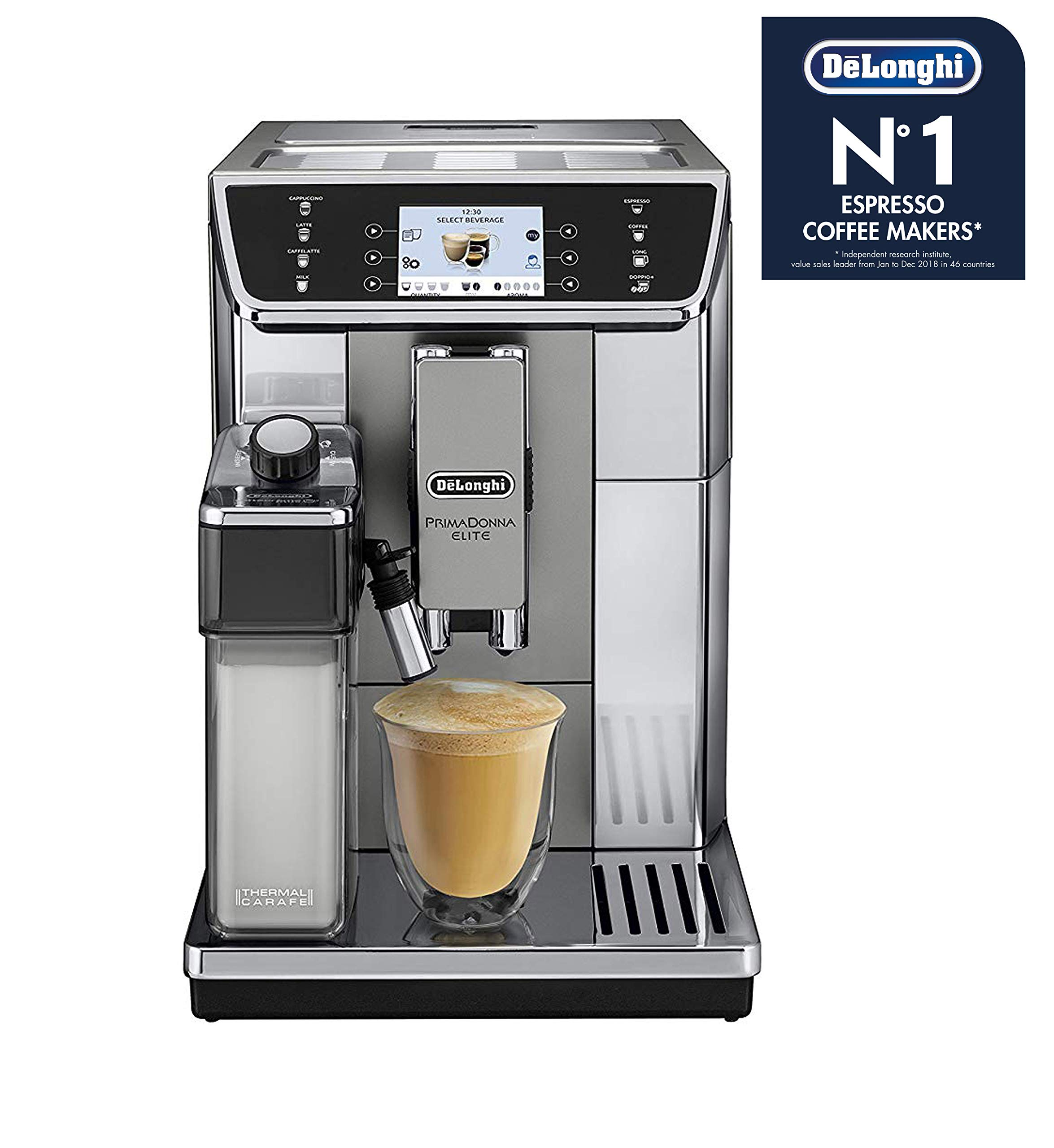 DeLonghi Prima Donna Elite ECAM 650.55.MS Independiente Totalmente ...
