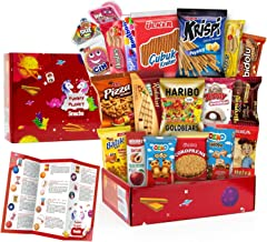Carian's Bistro Funny Planet Ultimate Snack Care Package, Variety Assortment of Chips, Cookies, Crackers & More,Candy Ultimate Variety Gift Box Pack Assortment Basket - 20 Count