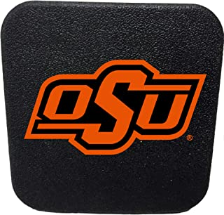 Racing Reflections Oklahoma State Cowboys Rigid Rubber Plastic Hitch Cover Plug Bumper Trailer Auto University of