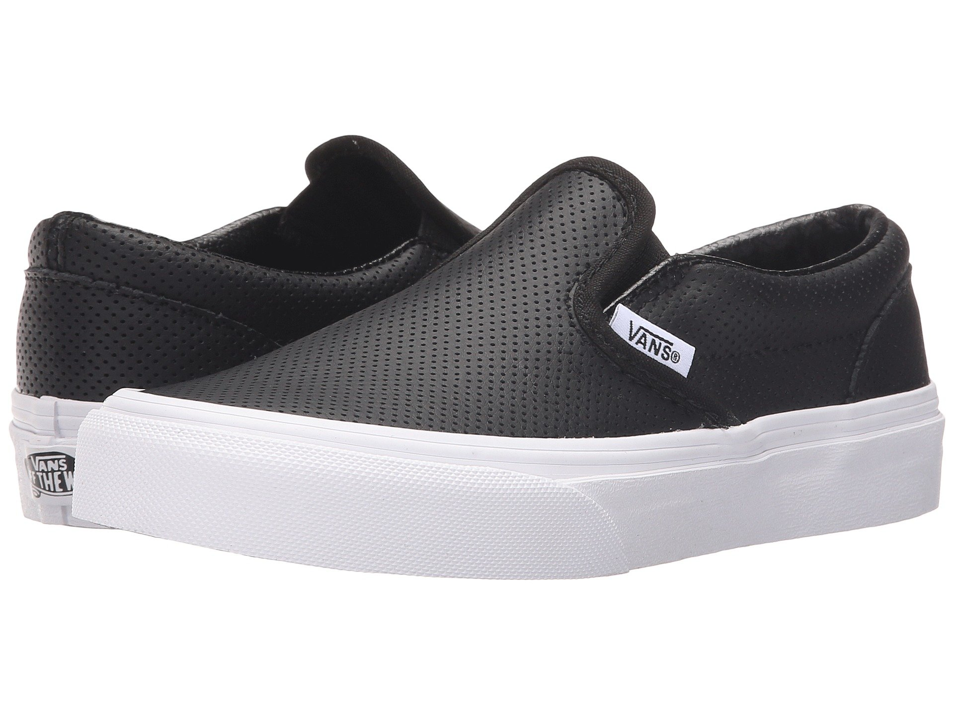 a6311764efc Buy vans perforated leather slip on zappos