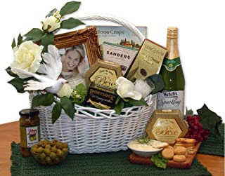 Organic Stores Romantic Wedding Gift Basket -Large