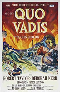 Gifts Delight Laminated 24x36 Poster: Poster - Quo Vadis (1951)