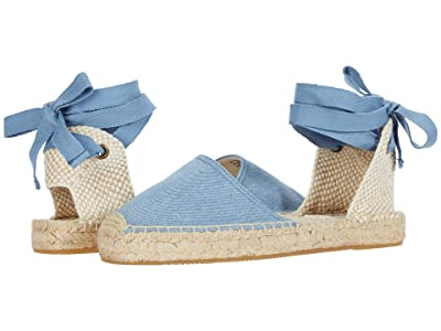 Soludos Lauren Espadrille Sandal (Light Blue) Women