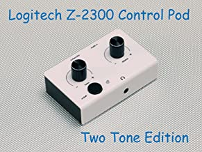 SummitLink Replacement Control Pod Two Tone Edition for Logitech Z-2300 Computer Speakers W/B