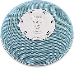HoMedics Deep Sleep Mini Portable Sleep Sound Machine   3 Programs, 3 White Noises, 2 Sounds, Guided Meditation, Auto-Off Timer, Rechargeable Battery   Blue
