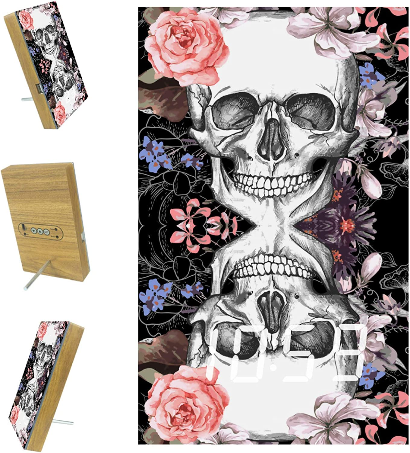 Cheap super special price Digital Alarm Clock artroseskull for A Bedrooms Max 83% OFF 3 Office Kitchen