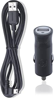 TomTom 9UUC.001.01 Cargador USB para coche para todos los navegadores y dispositivos, TomTom GO, Start, Via, GO Basic, GO Essential, Rider, GO Professional o GO Camper,Cargador único con cable, Negro