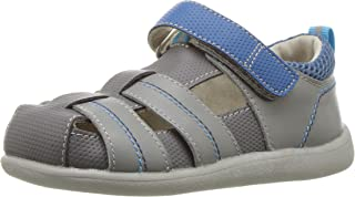 See Kai Run Kids' Ryan II Gray/Blue Sandal