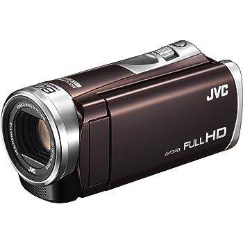 JVC ビデオカメラ Everio 32GB ダイナミック60倍/光学40倍ズーム GZ-E400-T (ブラウン)