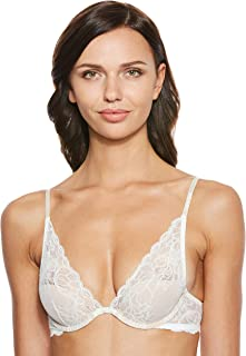 Calvin Klein Women's 000QF1436E-White Calvin Klein Bra for Women, White - 34 C