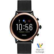 Gen 5 Julianna Stainless Steel Touchscreen Smartwatch with Speaker, Heart Rate, GPS, NFC, and...