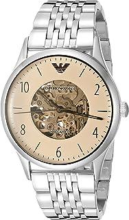 ساعة يد كوارتز للرجال من امبوريو ارماني، عرض انالوج وسوار ستانلس ستيل AR1922