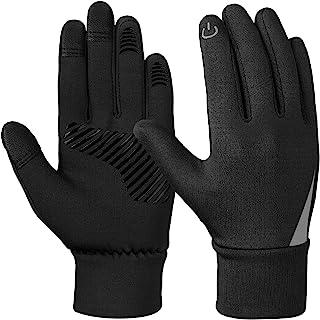 YukiniYa Kids Winter Gloves Waterproof Warm Touchscreen Soft Lining Gloves for Boys Girls Children 4-10 Years