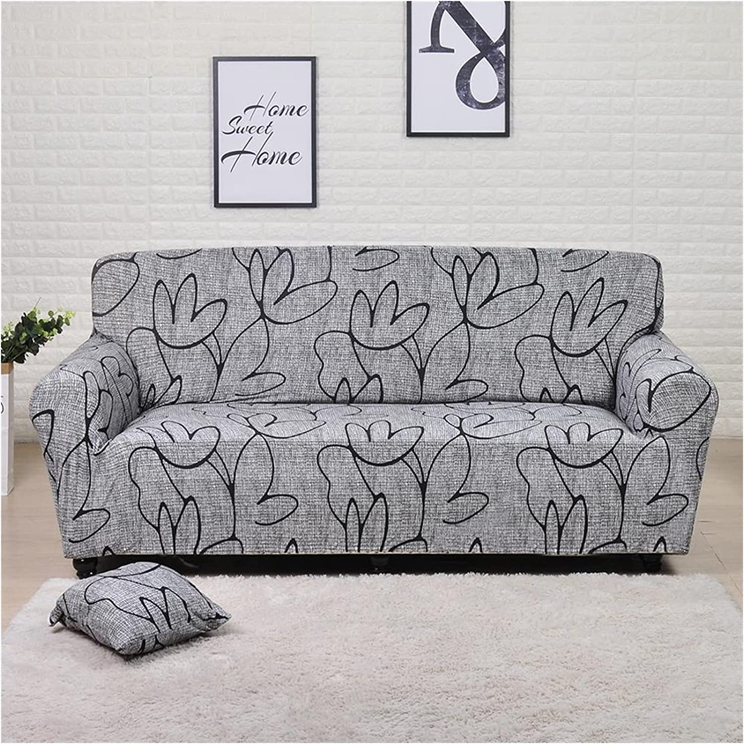 XIAOLI Couch Cover Sofa 55% OFF Covers Elastic Leaves and Flowers ! Super beauty product restock quality top!