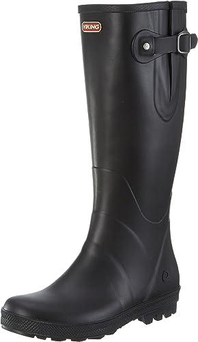 Aigle Foxy, Stiefel de Agua para damen, schwarz-Schwarz (schwarz 2), 40 EU