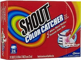 Shout Washer Sheets - 24 ct - 2 pk