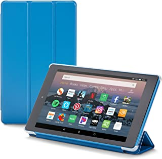 Nupro Tri-fold Standing Case for Fire HD 8 Tablet, Blue