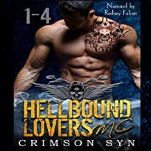 Hellbound Lovers MC, Books 1-4: Wolf, Grayson, Riggs & Cain