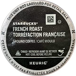 Starbucks French Roast Dark Roast Kcups, 60Count