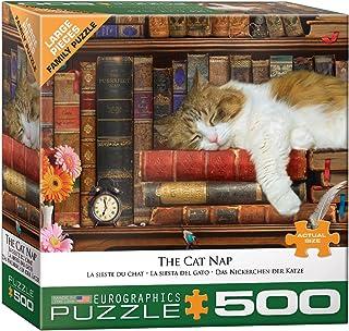 EuroGraphics The Cat Nap 500-Piece Puzzle