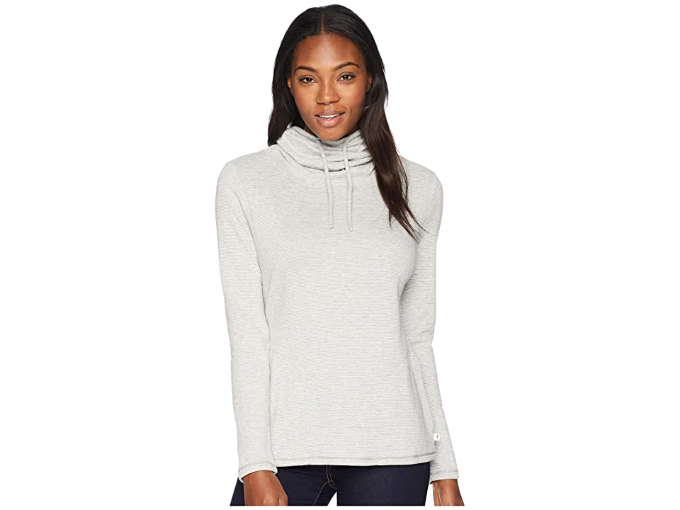 Toad&Co Cold Spring Pullover (Light Ash Stripe) Women