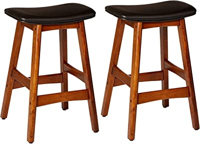 Amazoncom Winsome 81784 Tabby Stool Natural Kitchen Dining