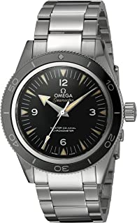 Men's 23330412101001 Seamaster300 Analog Display Swiss Automatic Silver Watch