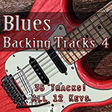 Blues Shuffle in A - Backing Track